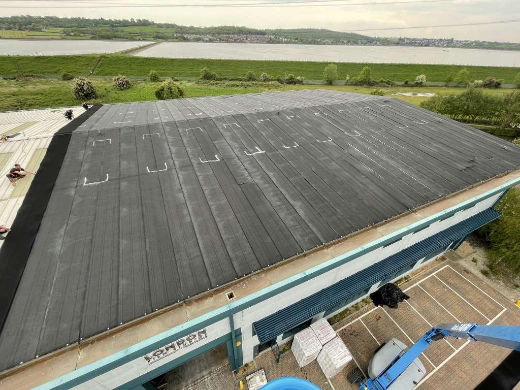 Silent Roof Installation