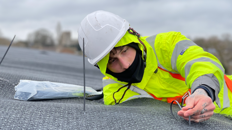 Silent Roof Installation for Rain Noise Reduction | TV Studio Group