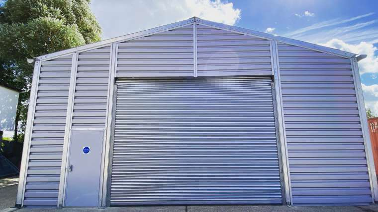 Temporary Warehouse Structure | TV Studio Group